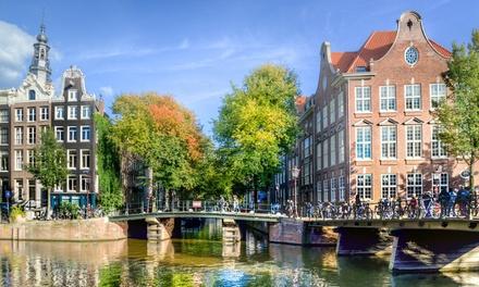 Ámsterdam: habitación doble estándar con pdj, cena opcional de 3 platos para 2 personas en el Hotel Die Port van Cleve