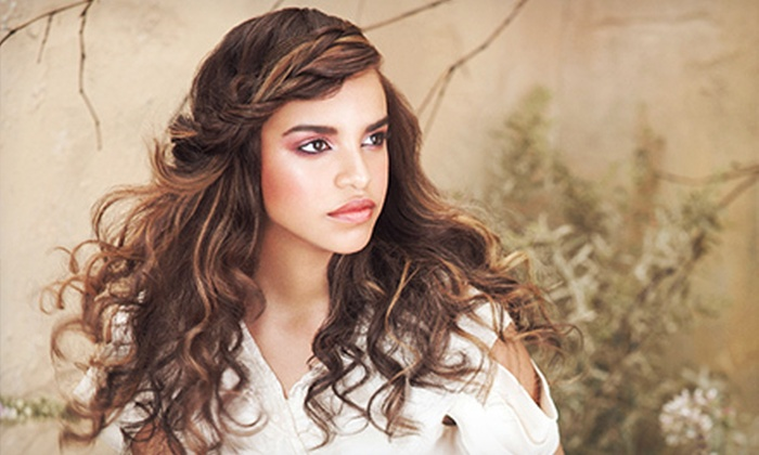 Leading Edge Aveda Salon - Downtown Santa Rosa: Haircut with Option of Botanical Hair Therapy, Color, or Highlights at Leading Edge Aveda Salon (Up to 68% Off)