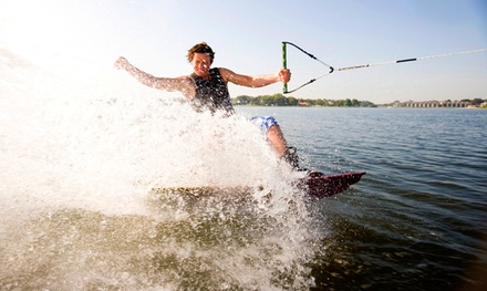 Kids' Wakeboarding Lesson, or a Wakeboarding Lesson for One or Two from Raging Buffalo (Up to 57% Off)