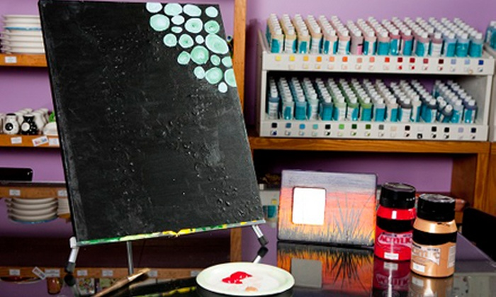 Do Art Studios - Gainesville: Canvas-Painting Class for One or Two at Do Art Pottery & Art Studio (52% Off)