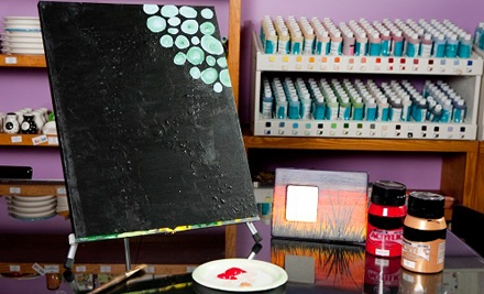 Canvas-Painting Class for One or Two at Do Art Pottery & Art Studio (52% Off)