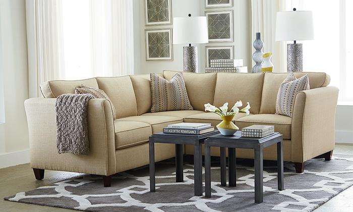 Bassett Furniture Turner Sofas | Groupon