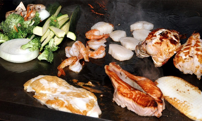 Iron Chef Japanese Steakhouse - Puyallup: $11 for $20 Worth of Japanese Steak House Cuisine for Dinner at Iron Chef Japanese Steak House