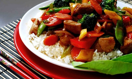 Three-Course Szechuan Chinese Dinner for Two or Four at The Red Pepper (Up to 50% Off)
