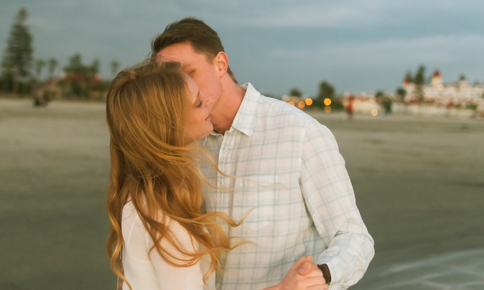 Live Your Life Photography - San Diego: 45-Minute Engagement Photo Shoot from Live Your Life Photography (61% Off)
