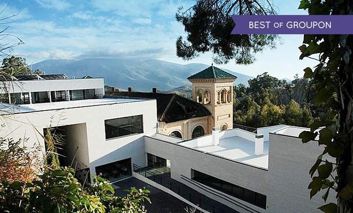 Granada: 1 o 2 noches para dos, desayuno, detalle y circuito termal en Hotel Balneario de Lanjarón 4*