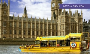 London Duck Tours: London Duck Tours: Classic Land and River Sightseeing Tour for £18.50 (23% Off)