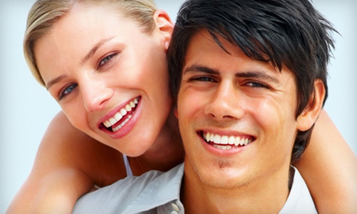 Million Dollar Smile - Multiple Locations: $75 for an In-Office Teeth Whitening and a Take-Home Maintenance Pen at Million Dollar Smile ($308 Value)