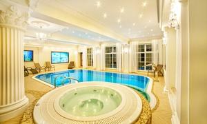 noclegi Mrągowo Mazury: 1-7 nocy dla 2 osób ze śniadaniami, basenem i więcej w Hotelu Solar Palace 4*