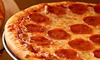 Angry Slice and Sub Shop - Southwest Side: Pizza and Subs at Angry Slice and Sub Shop (Up to 50% Off). Two Options Available.