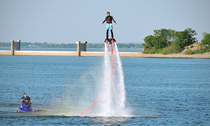 Flyboard-Nation - Hickory Creek: 30-Minute Flyboard Flight with 15 Minutes of Instruction for One or Two at Flyboard-Nation (Up to 60% Off)
