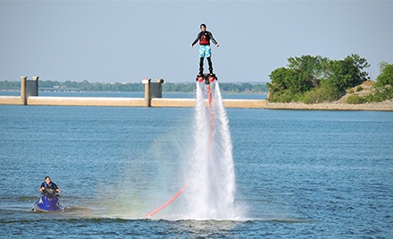 30-Minute Flyboard Flight with 15 Minutes of Instruction for One or Two at Flyboard-Nation (Up to 60% Off)