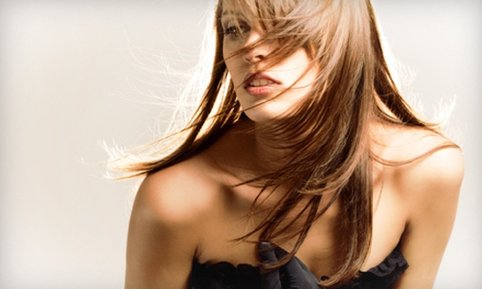 Legends Academy - Clearbrook Commercial: Haircut Package with Blow-Dry, Root Retouch, or Full Colour Treatment at Legends Academy (Up to 52% Off)
