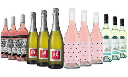 $65 for 12-Bottles of Wonderful Celebrations Mixed Wine inc 6 bottles from 5* Rated winery McWilliams (Don't Pay $319)