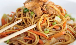aja noodle co.: Two Groupons, Each Good for $20 Worth of Pan-Asian Dinner Fare at aja noodle co. ($40 Total Value)