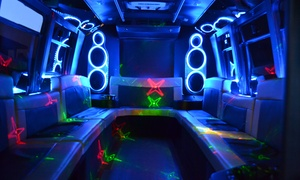 Texas Limo And Bus Llc: Five-Hour Karoake Party Bus Rental from Texas Limo and Bus (39% Off)