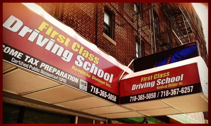 First Class Driving School & Handicap Division Inc