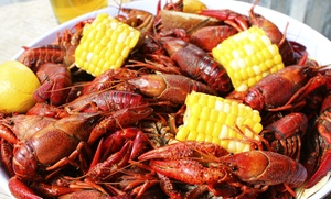 New Orleans Crawfish Boils and Music Series: New Orleans Crawfish Boil and Music Series at 7 p.m. on May 14–July 2
