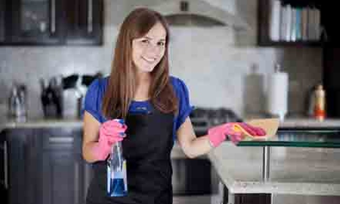 Homejoy - San Jose: Three Hours of Housecleaning with One or Three Months of Future Discounted Cleaning from Homejoy (Up to 59% Off)