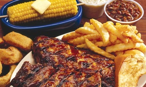 Shorty's BBQ: $15 for $20 Worth of Barbecue Ribs, Chicken, and Burgers at Shorty's BBQ
