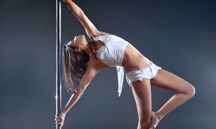 LadyCat Pole Dance Instruction Parties - Hartford: Pole-Dance Party Package for 10, 15, or 25 from LadyCat Pole Dance Instruction Parties (Half Off)