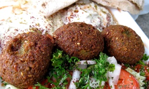 Mezza Cafe: Up to 47% Off Traditional Lebanese cuisine at Mezza Cafe