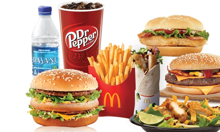 Long Island McDonald's - Long Island: Three or Five Vouchers, Each Good for One Medium Extra Value Meal at Long Island McDonald's (Up to 41% Off)