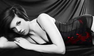 Glamour Shots: Boudoir or Family Photo-Shoot Package at Glamour Shots (Up to 91% Off)