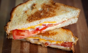 Paddy Jack's: Grilled Cheese, Appetizers, and Salads for Two During Dinner or Lunch at Paddy Jack's (40% Off)