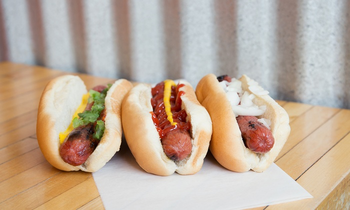 Cheese Dawgs - Lower Southampton: $13 for Four Groupons, Each Good for $5 Towards Specialty Hot Dogs at Cheese Dawgs ($20 Total Value)