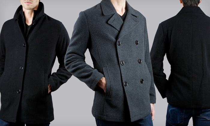Kenneth Cole Men's Plush Wool Coats: $59 for a Kenneth Cole Men's Wool Coat ($250 List Price). Multiple Styles, Sizes, and Colors Available. Free Shipping.