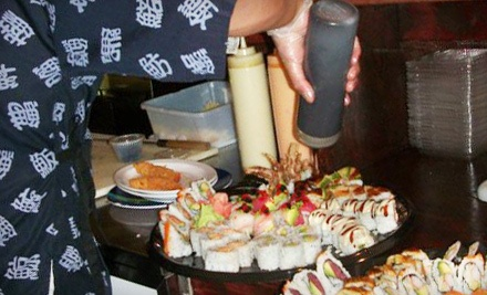349 Copperfield Blvd. NE in Concord: $20 Dinner Groupon - Kyjo's Japanese, Thai and Sushi Bar in Concord