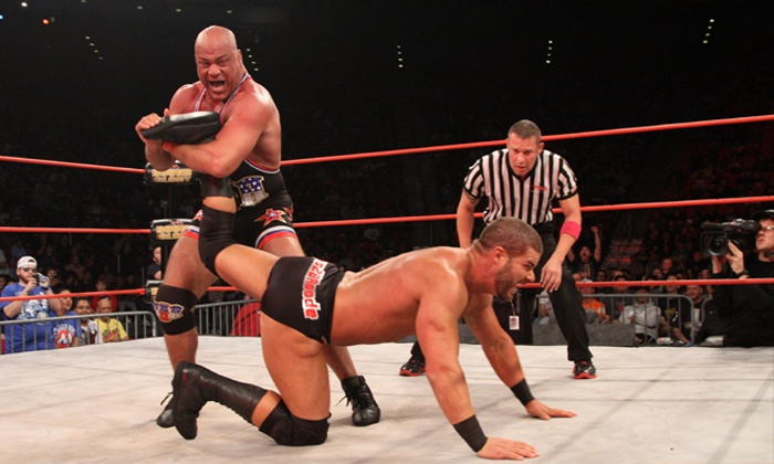 TNA Impact Wrestling World Tour - NYCB Theatre At Westbury: $25 to TNA Impact Wrestling World Tourat NYCB Theatre at Westbury on Saturday, December 28, at 7:30 p.m. ($57 Value)