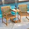 Virginia Adjoining Hardware Outdoor Chairs (Set of 2)