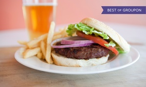 Library Sports Pub and Grill: Pub Fare at Library Sports Pub and Grill (Up to 45% Off)