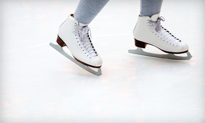 Blazers Ice Centre - Oklahoma City: Ice Skating for Two or Four or Skating Lessons at Blazers Ice Centre (Up to 53% Off)