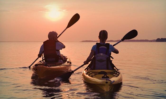 Alfredo's Beach Shack - Naples,Belmont Shore: Two-Hour Single- or Double-Kayak Rental at Alfredo's Beach Shack (Half Off)