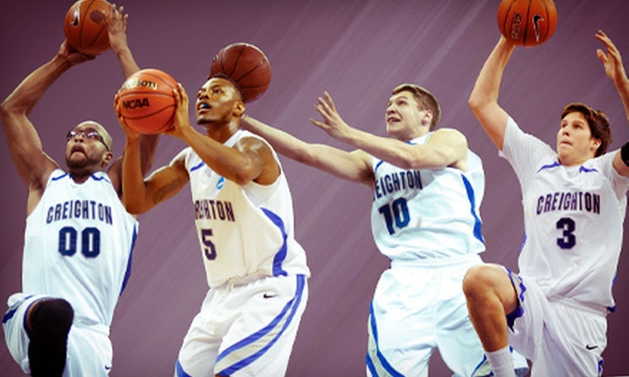 Creighton University Bluejays Basketball - Creighton University Bluejays Basketball: Creighton Bluejays Men's Basketball Game at CenturyLink Center Omaha (Up to $18.05 Value). Five Games Available.