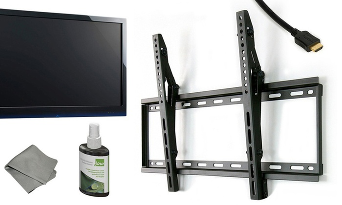 """Fino TV-Mounting Kit for 30""""-60"""" TVs: Fino TV-Mounting Kit with HDMI Cable (FT64). Free Shipping and Returns."""