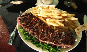 Angus Steak House: $22for $40 Worth of Argentinean Cuisine and Drinks for Two at Angus Steak House