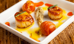 Cafe Sevilla : Three-Course Spanish Meal for Two on Saturday or Sunday at Cafe Sevilla- Long Beach (Up to 46% Off)