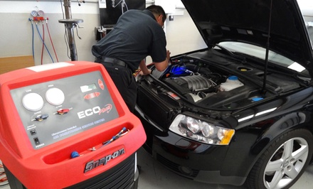 $39 for AC Recharge with Up to 2 Pounds of Freon at California House of Auto( $100Value)