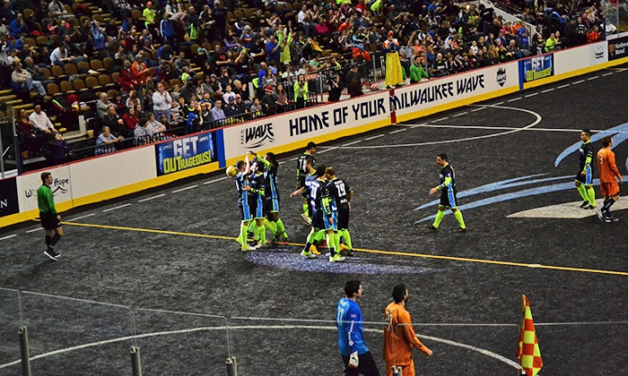 MKE Wave - UW–Milwaukee Panther Arena: MKE Wave Indoor Soccer Match with T-Shirt on Saturday, November 14, at 6:05 p.m.