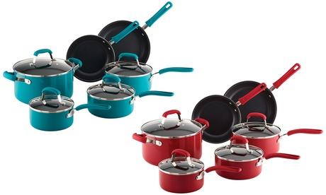 Guy Fieri Non-Stick Cookware Set (10-Piece) 90abce8c-29ce-11e7-9403-00259069d7cc