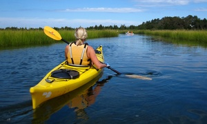 JK Kayak: Kayak or SUP Tour or Rental on Long Island for Two or Four from JK Kayak (Up to 62% Off)
