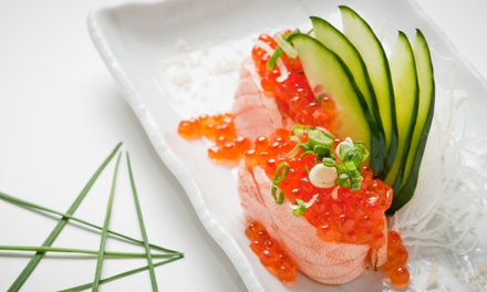 Sushi and Japanese Food at Japanese Gourmet Restaurant (50% Off). Two Options Available.