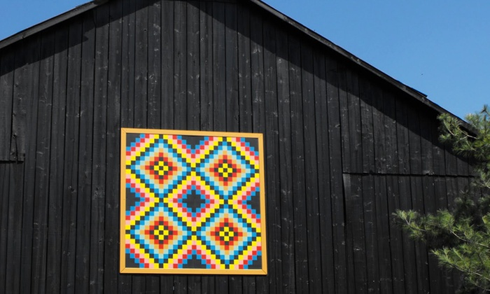 Buy Barn Quilts - 3: 2'x2' or 4'x4' Custom or Pre-Patterned Barn Quilt from Buy Barn Quilts (Up to 50% Off)