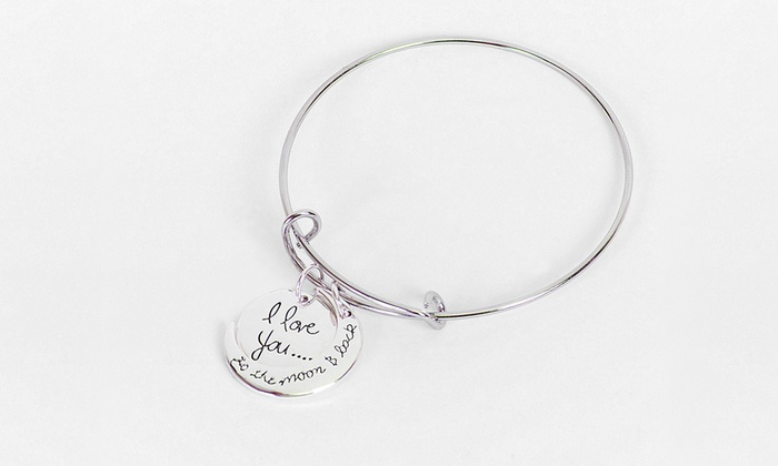 Up To 89 Off I Love You The Moon And Back Bracelets