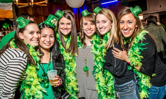 St. Patrick's Trolley Bar Tour & Crawl - Bar Louie: St. Patrick's Day Bar Tour & Crawl on Saturday, March 12, from Noon to 6 p.m.