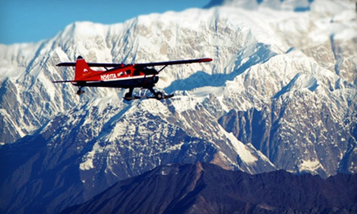 Talkeetna Air Taxi - Talkeetna: $199 for a Flight Tour of Mt. McKinley's South Face for Two from Talkeetna Air Taxi ($398 Value)